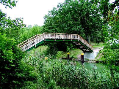 Neue Kanalbrücke
