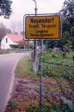 Ortseingang Neuendorf