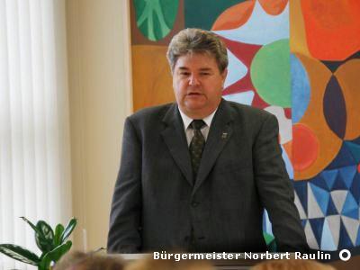 Bürgermeister Norbert Raulin