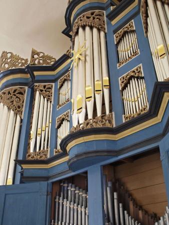 Orgel schräg