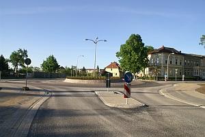 Parchim - Kreisverkehr