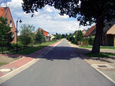 Der Charlottenhofer Weg in Passow