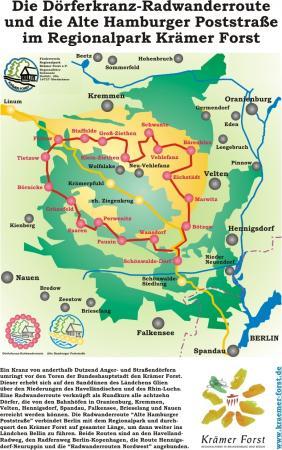Karte Rundtour Krämer Forst