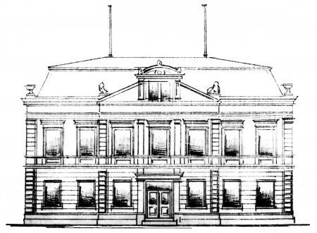 Bauzeichnung Rathaus