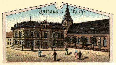 Rathaus 1898