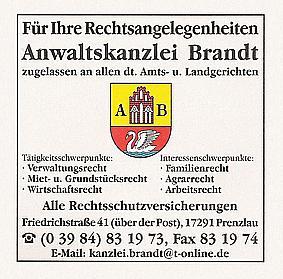 Rechtsanwaltskanzlei Andreas Brandt
