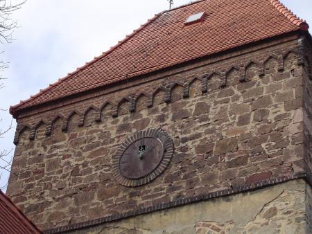 Alte Kirchturmuhr