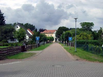 Schloßstraße in Daschow