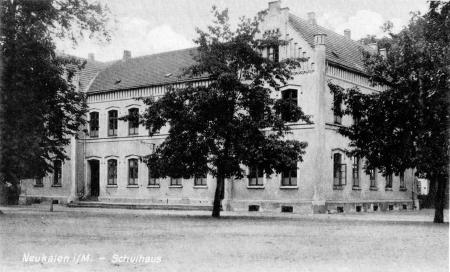 Schule um 1920