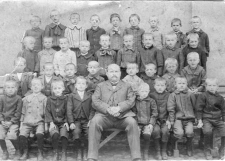 Schulklasse 1907