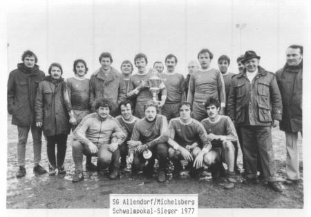Schwalmpokal Sieger 1977