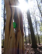 Skulptur auf dem Waldfreidhof