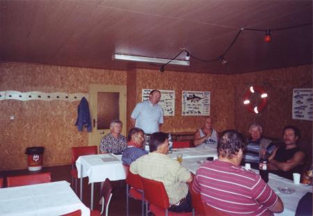 Gespächsrunde des LAV mit den Anglervereinen im Unteren Recknitztal am 10.09.2005 in Marlow - 2