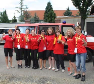 Team nach Olympiade 2009