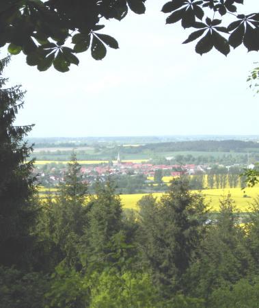 Ausblick von der Friedrich-Franzens-Höhe auf Neukalen