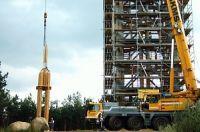 Fertigstellung des Turms