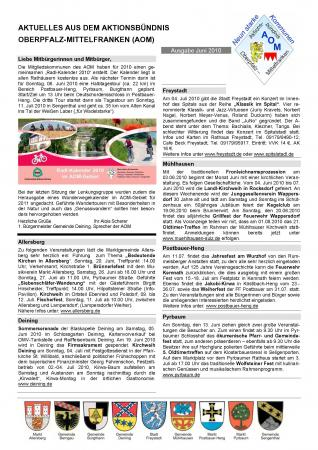 AOM-Mitteilungsblatt