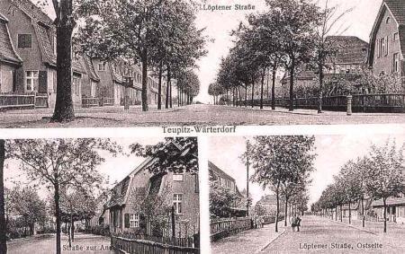 Wärterdorf, Postkarte 1926