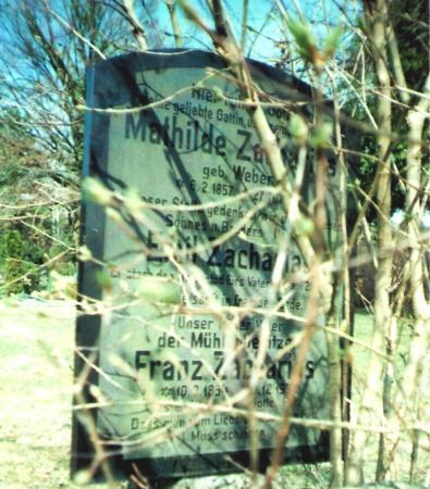 Grabstätte Zacharias