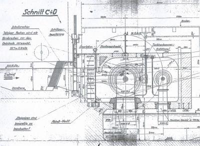 Zeichnung Turbine