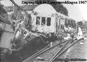 Zugunglück 1967