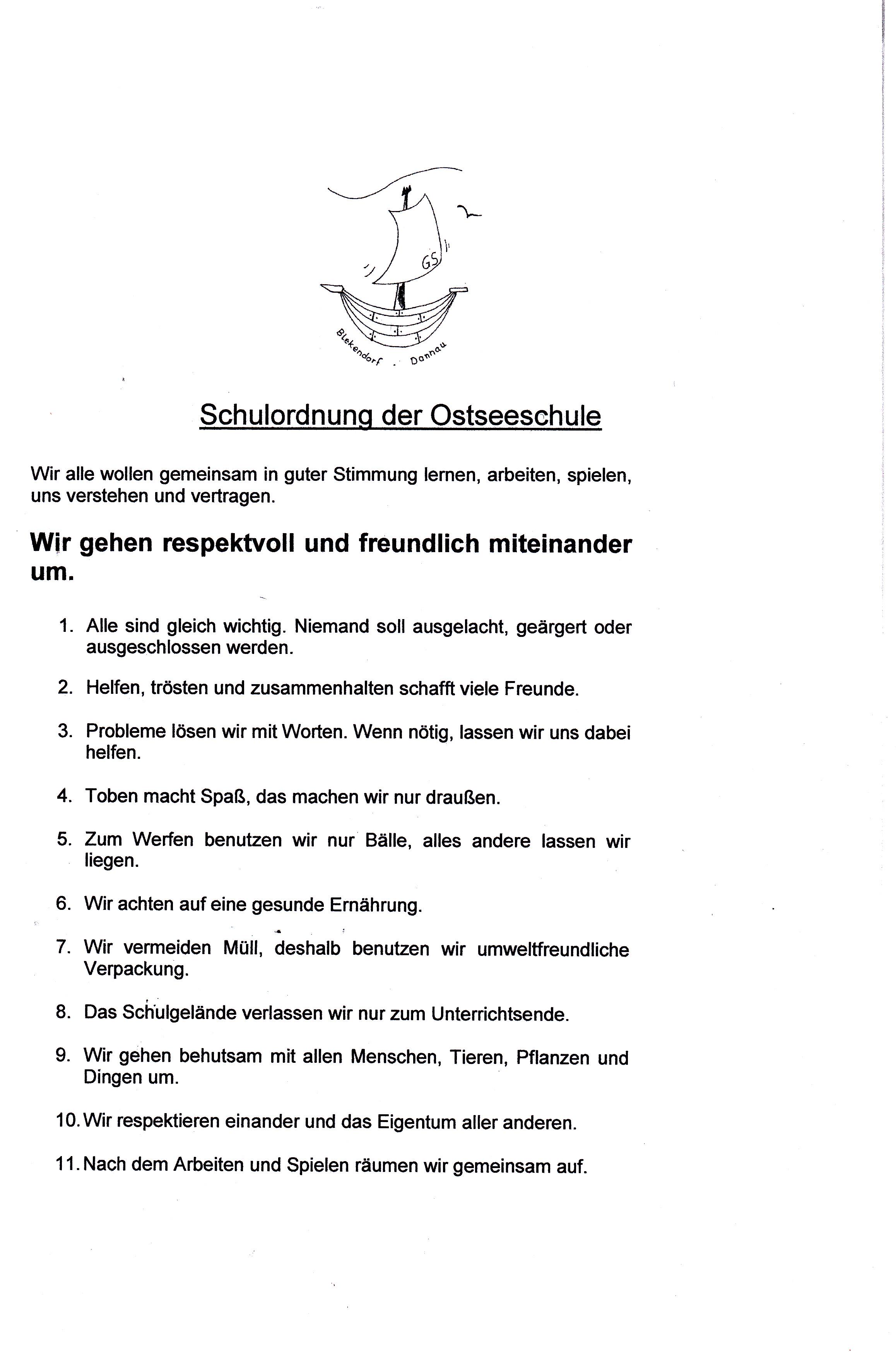 Ostseeschule Blekendorf/Dannau - Downloads der Schule Blekendorf