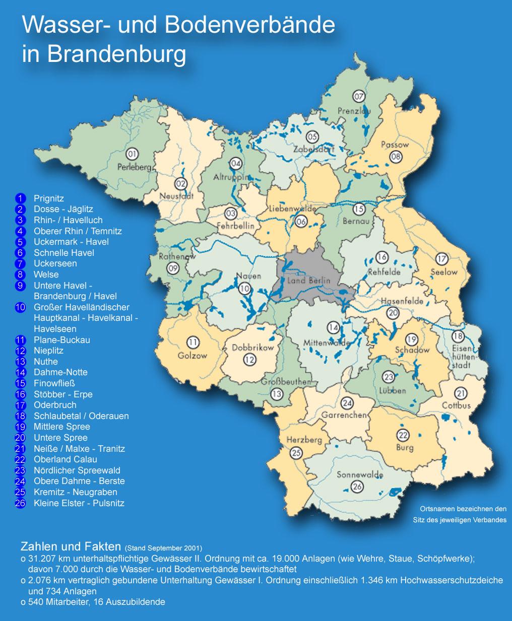 Land Brandenburg Karte.Gewässerverband Kleine Elster Pulsnitz