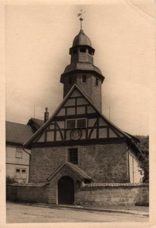 Kirche in den 1960er Jahren