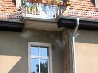 Wasserschaden an der Fassade