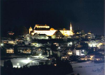 Fürstenstein bei Nacht