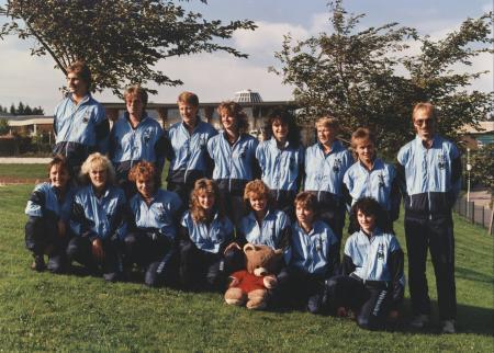 Damen-  Saison 1985-1986