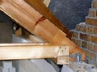 Dachsparren mit geringem Wandauflager2
