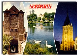 Postkarte Senonches