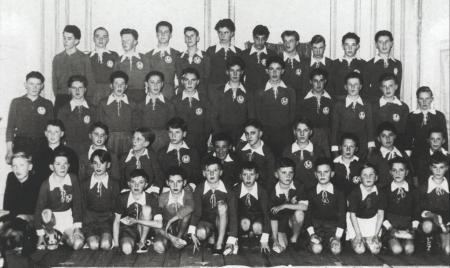 WEihnachtsfeier Jugend 1953