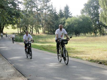 Radeln von Sieb nach Kemlitz auf der Flaeming-Skate