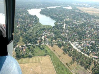 Der Falkenhagener See von oben