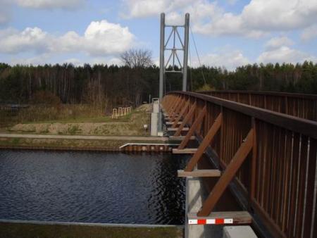 Brücke über den Oder-Spree-Kanal in Kaisermühl