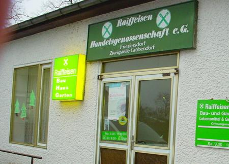 Verkaufsstelle Gräbendorf