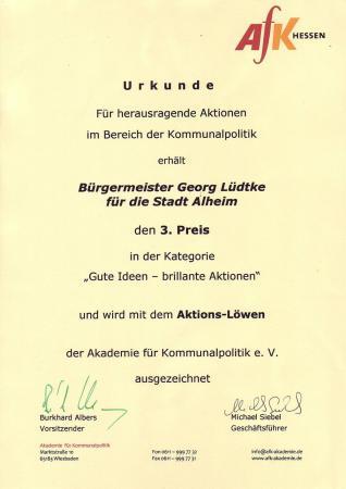 Aktions-Löwe 2008