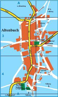 Ortsplan Altenbuch