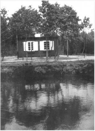 Das 1. Anglerheim 1954