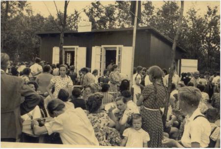 Eröffnung Anglerheim 20.06.1954