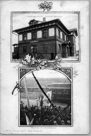 Ansichtskarte Bahnhof 1907