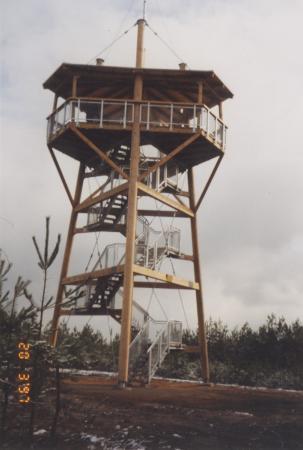 Aussichtsturm Schoene Aussicht bei Klein Briesen