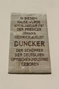 Geburtshaus Duncker