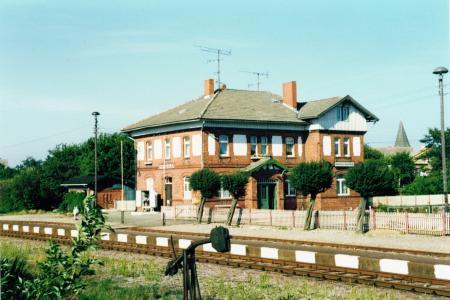 Bahnhof 1991