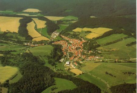 Luftaufnahme von Nazza