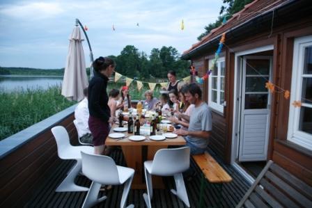 Bootshaus - Terrasse