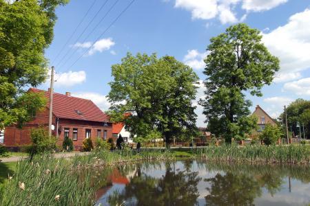 Bockow - Dorfteich