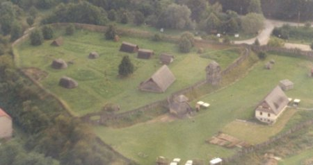 Luftbild Funkenburg